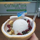 Try this coconut ice cream from Co Nut Ink kiosk at Siloso Beach, Sentosa.