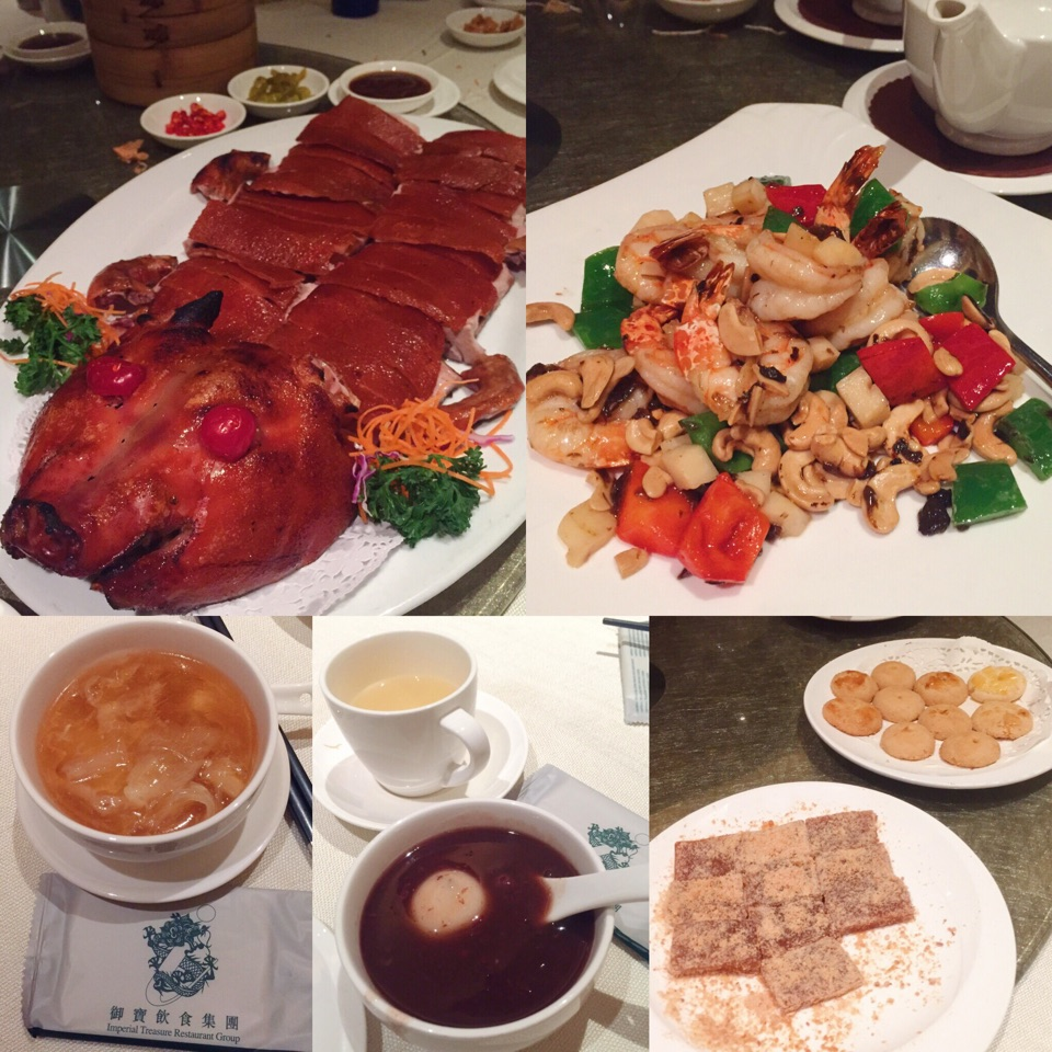 6-course Chinese New Year Menu With Desserts