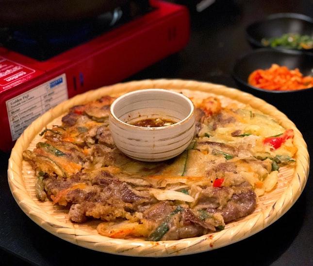 Bulgogi Pancake ($19+ U.P.; On Burpplebeyond)