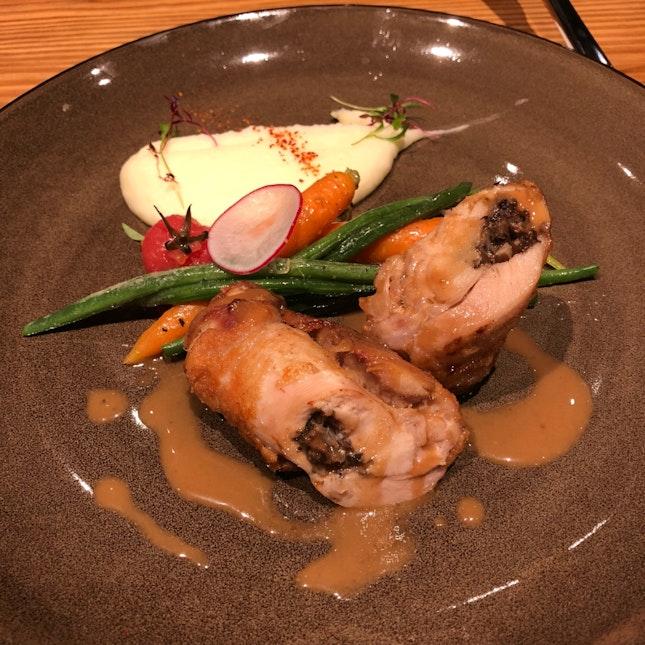 Chicken Roulade ($18++ U.P.; On Burpple Beyond)