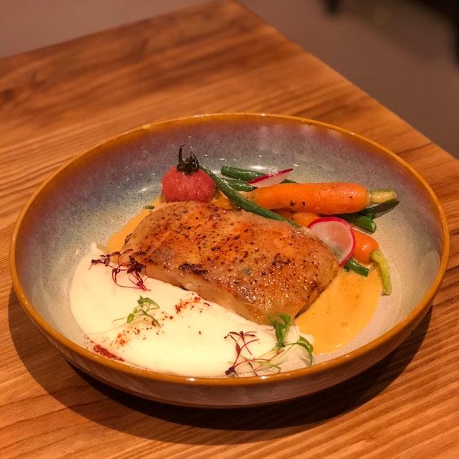 Miso Salmon ($18++ U.P.; On Burpple Beyond)