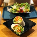 Tai Mahal Salad ($10.90), Turkey Small Wrap Set ($7.50)