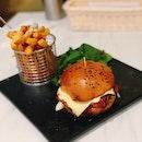 Grilled Chicken Burger ($18 U.P.), Pan Seared Barramundi- Not Pictured ($18 U.P.) On Burpplebeyond