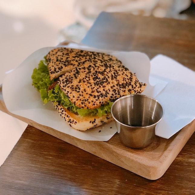 Yakiniku Mushroom Sandwich ($8.80)