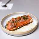 Smoked Salmon Cream Cheese Toast ($13 Nett U.P.; On Burpplebeyond)