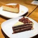 Red Velvet Cake, Honey Cheesecake