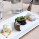 Sesame Lava Cake ($11+ GST w/o Service Charge)