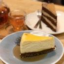 Cheesecake, Earl Grey Chocolate Cake