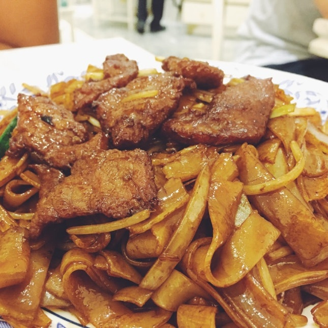 Dried Beef Hor Fun