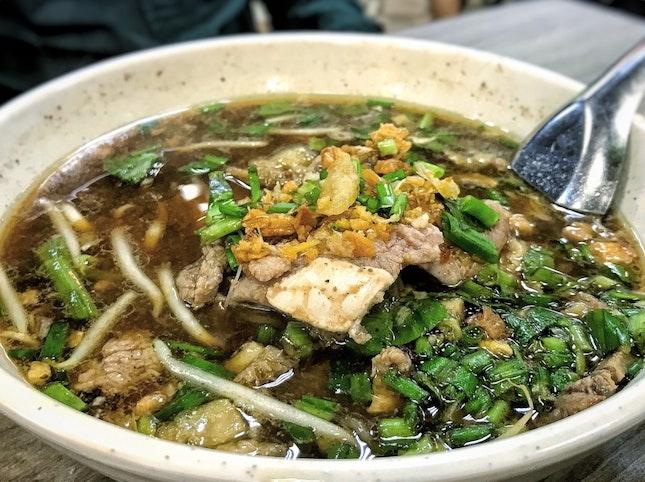 Beef Noodles ($6)