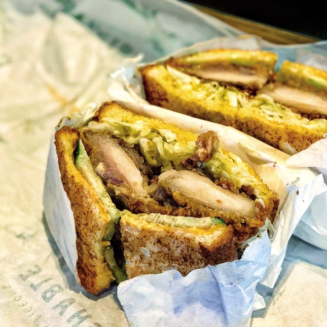 Fried Chicken Sandwich ($16)