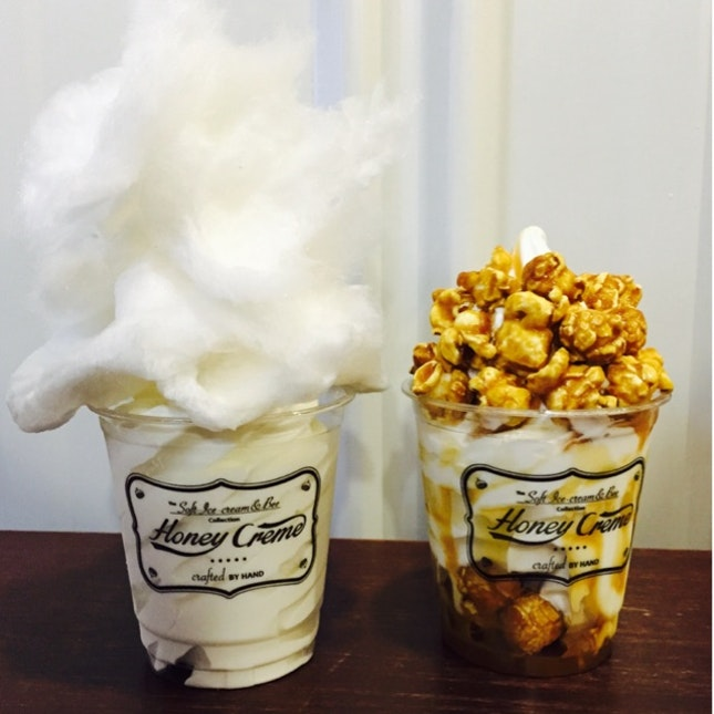 cotton candy & popcorn!!