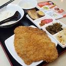 Golden Pork Cutlet Rice Set