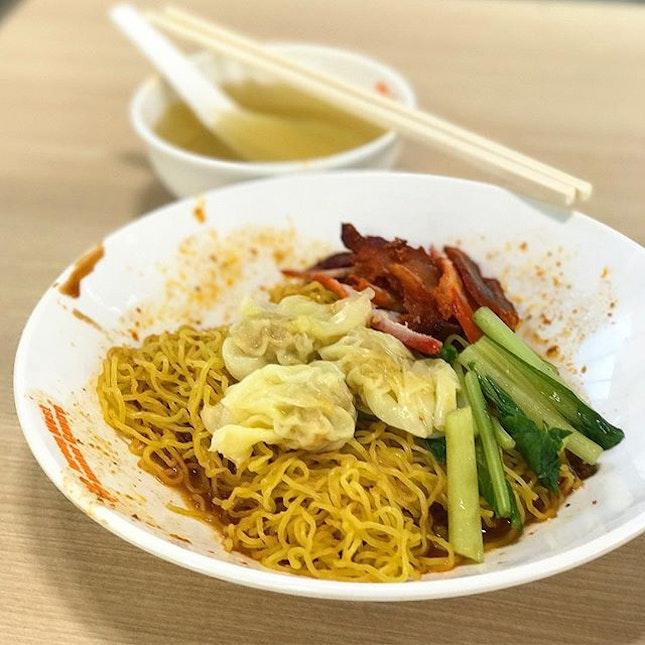 Wanton Noodles ($3)