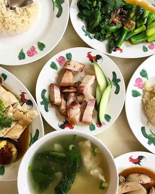 Chicken Rice Set (2 x $7) .