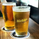 Pint of Beer (Priced by the hour!) .