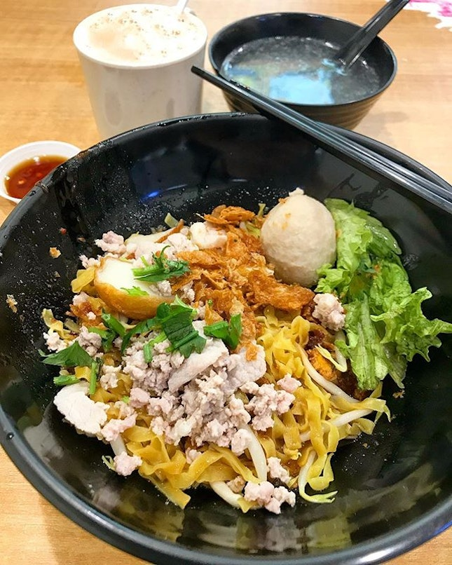 Ba Chor Mee Set ($4.50)  If you are looking for a simple, decent, no frills meal, Bukit Panjang bus interchange has this noodle stall that serves up good BCM.