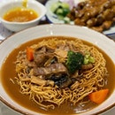 Ah Kor Hainanese Lamb Stew with Crispy Noodles ($12.80)