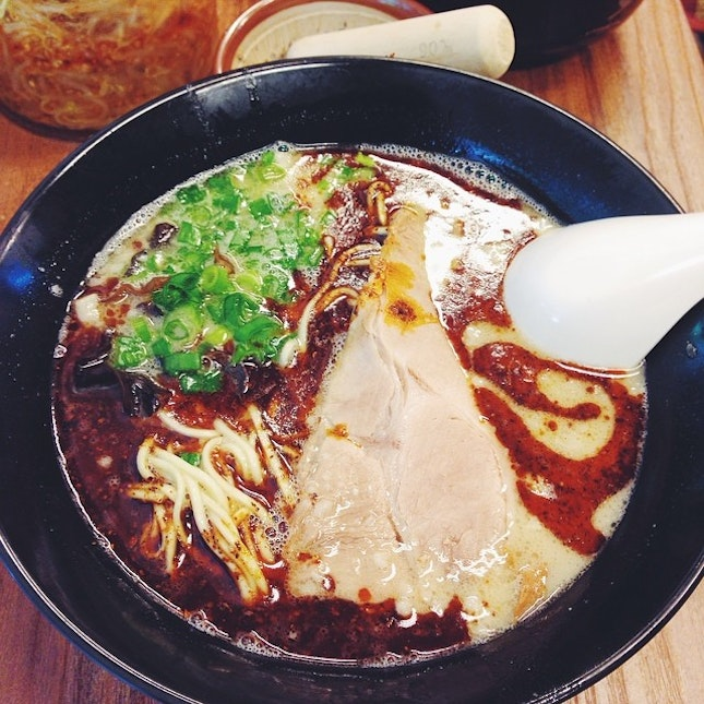 Best best best and favorite ramen in Singapore!