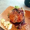 😍 Unagi Rice Ball 😍 Itadamimasu~!