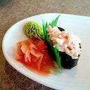 😍 Kani Mayo Sushi 😍 Itadamimasu~!