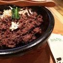 Hot Stone Beef Bulgogi 🐮🐮🐮 .