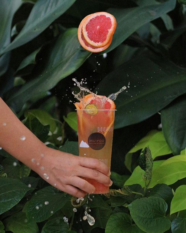 Weather is so hot and humid today, in need of cold refreshing drink!