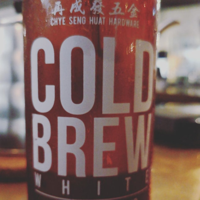 Excellent Cold Brew White