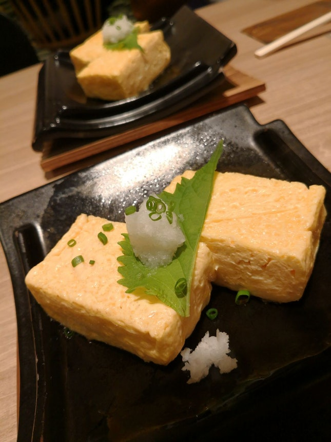 Tamago On Hot Plate