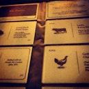 Namecards Menu @ Broadcast HQ