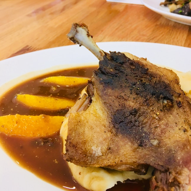 Duck Confit (cont'd Review On This Dish)