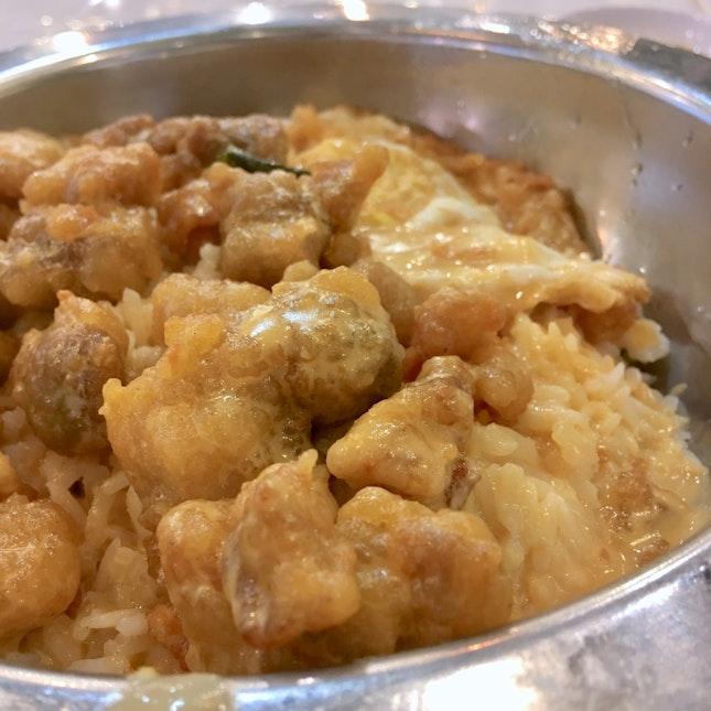 Salted Egg Chicken ($7)