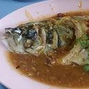 豆蒸鱼头 Bean Paste Fish Head