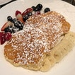 Buttermilk Pancakes, Banana and Maple syrup [$18]