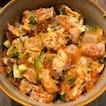Spicy Mentaiko Salmon Bowl [$18.90]