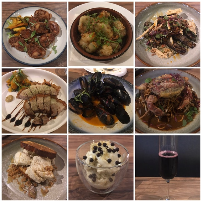 Extensive (and affordable) wine collection but mediocre food