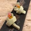 Pre Dessert - Nasturtium Marshmallow, Candied Orange