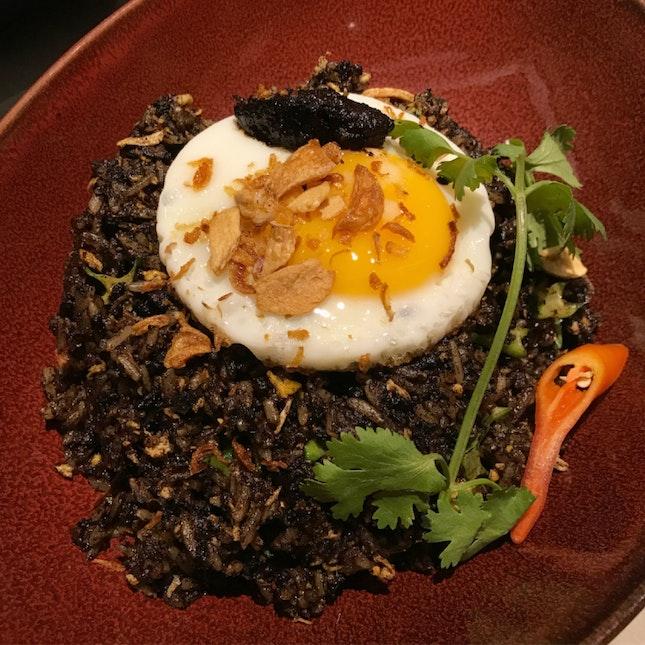 Sambal Buah Keluak Fried Rice [$28]