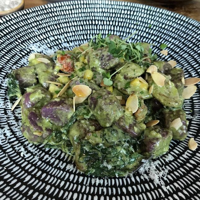 Parmesan Purple Sweet Potato Gnocchi [$19]