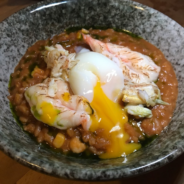 Chili Crab Risotto [$26]