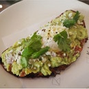 Guacamole toast | Cotija cheese | Sourdough