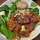 Fav Bowl With Sambal Tempeh & Tofu!