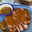 Spiced Rub Lamb Leg with 2 Sides (250g) [$29]