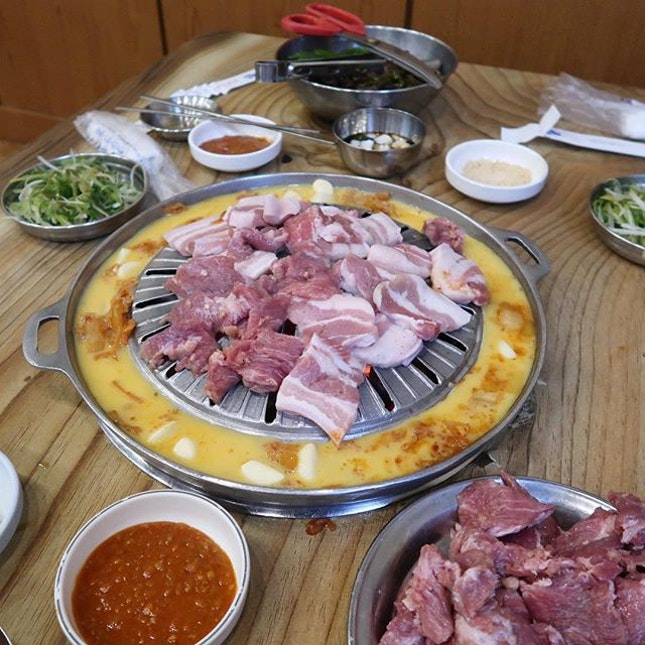 """Seagull"" meat (galmaegisal) is a must eat in Korea."