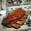 Massive slow-cooked beef ribs at Lime House for dinner last night; thid was my favorite of the new menu launched here.