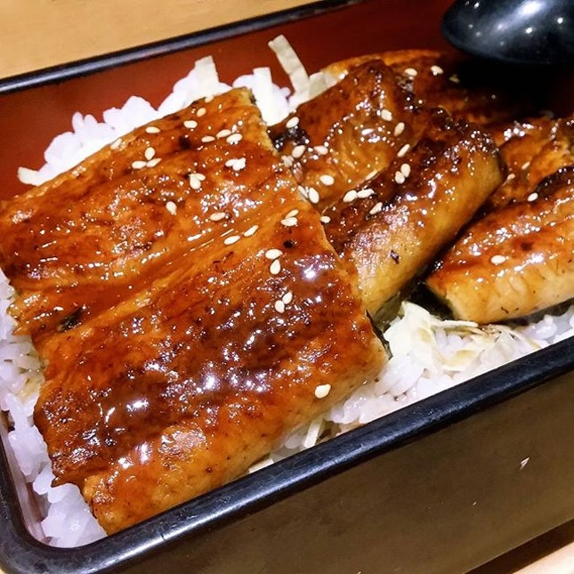Unagi Donburi: One of my go-to choices when I can't decide on what to get when dinning at a Japanese Restaurant.