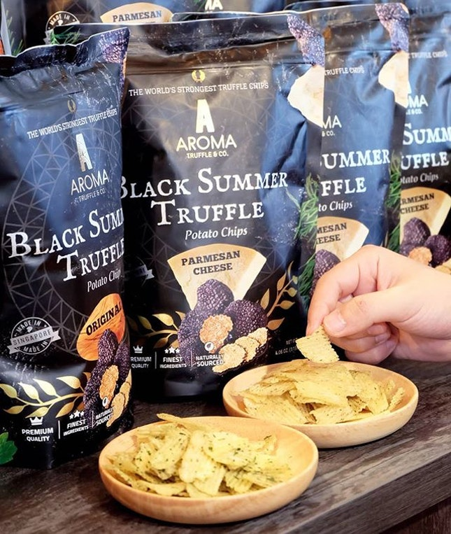 Earlier this month we saw the launch of Singapore's first Truffle Chips Boutique.