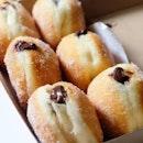 Chocolate Cream Doughnuts