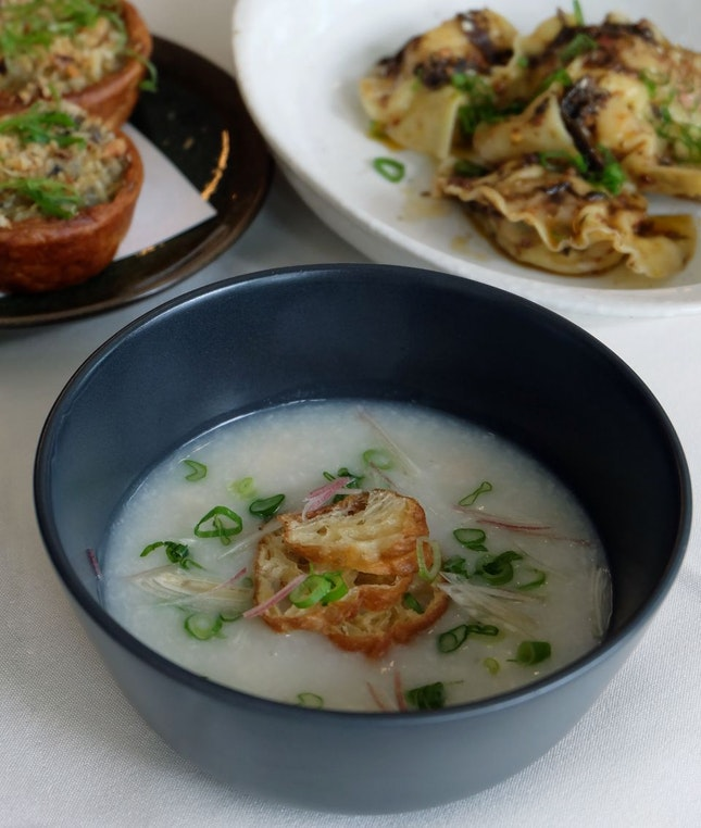 Scallop & Ginger Congee