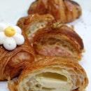 September Bake Box: Mentaiko Prawns Twice-Baked Croissant
